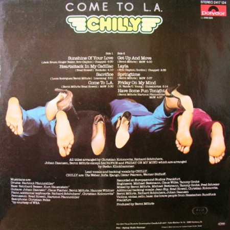 Chilly - Come To L.A. (1979)