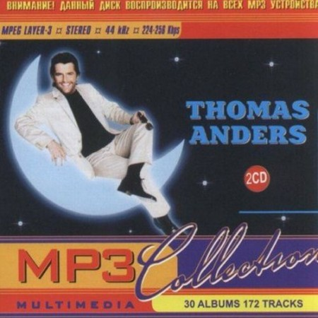 Thomas Anders - Mp3 Collection (30CD) (1989-2002)
