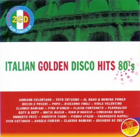 Italian Golden Disco Hits 80-s (2CD)