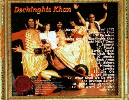 Dschinghis Khan - Greatest Hits (2001)