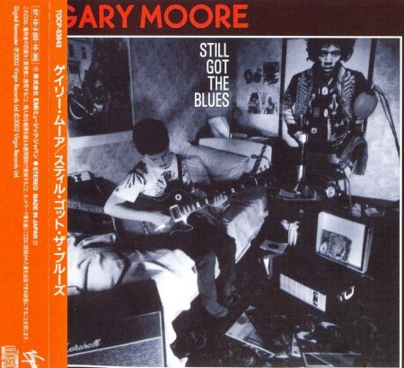 Gary Moore - Still Got The Blues (Japanese Edition) (1990/2002)