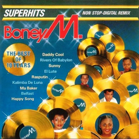 Boney M. - The Best Of 10 Years (1986)