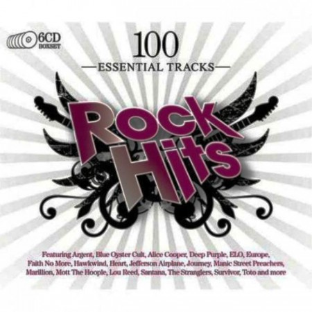 100 Essential Tracks - Rock Hits (6 CD, 2010)
