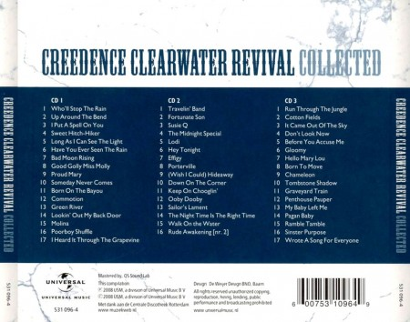 Creedence Clearwater Revival - Collected (3 CD, 2008)