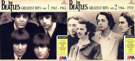 The Beatles - Greatest Hits [Star Mark Compilation] (4 CD, 2007)
