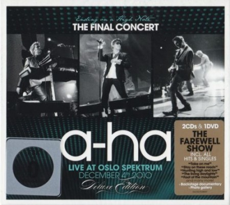 A-HA - Ending On A High Note - The Final Concert (2011) 2CD [Deluxe Edition]