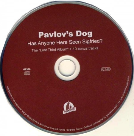 Pavlov's Dog - Has Anyone Here Seen Sigfried? (1980/Remastered 2007)