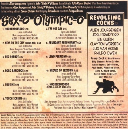 Revolting Cocks - Sex-O Olympic-O (2009)