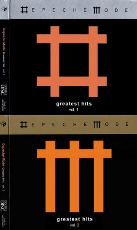 Depeche Mode - Greatest Hits 1-2 (4 CD, 2009)