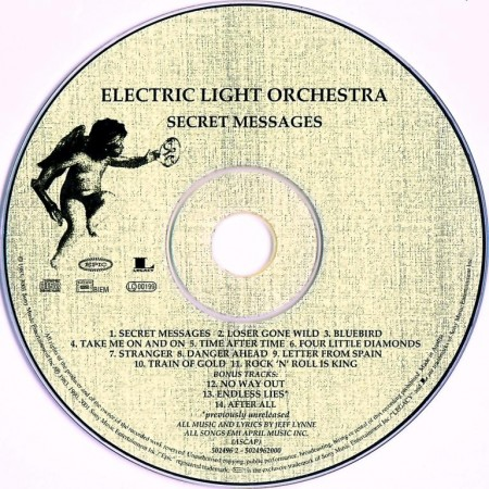 Electric Light Orchestra (ELO) - Secret Messages (1983/Remastered 2001)