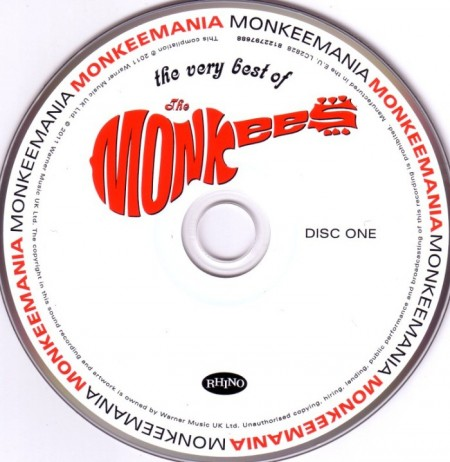 The Monkees - The Very Best Of (2 CD, 2011)