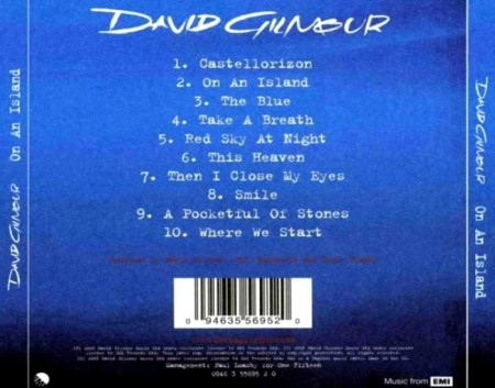 David Gilmour - On An Island (2006)