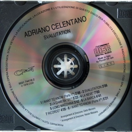 Adriano Celentano - Svalutation (1976/Remastered 1991) FLAC