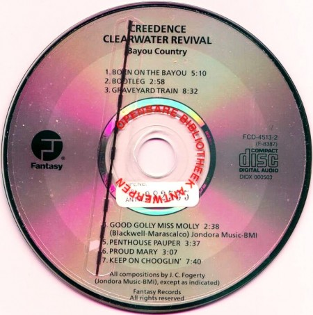 Creedence Clearwater Revival - Bayou Country (1969/2003 Remastered)