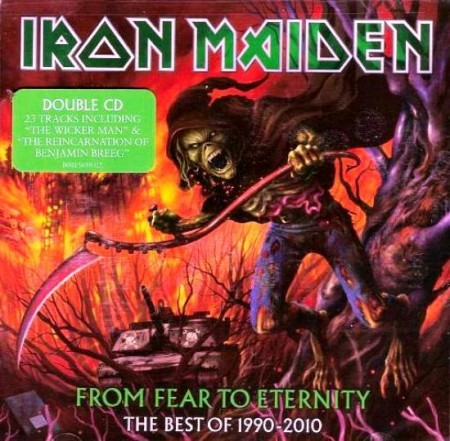 Iron Maiden - From Fear To Eternity - The Best Of 1990-2010 (2 CD, 2011)