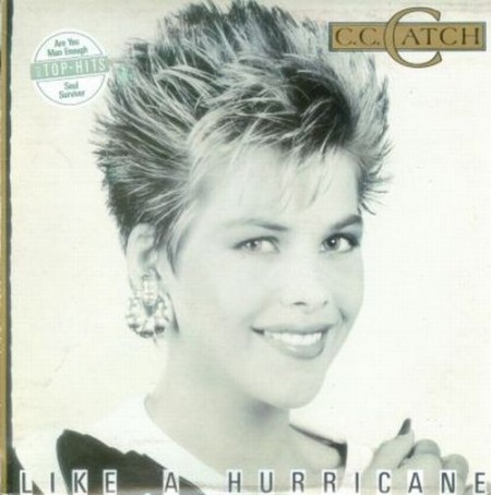 C.C.Catch - Like A Hurricane (1987) Vinylrip
