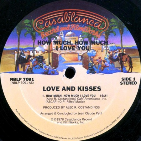 Love And Kisses - How Much, How Much I Love You (1978)