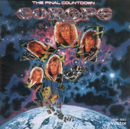 Europe - The Final Countdown (Japanese Edition) (1986) FLAC