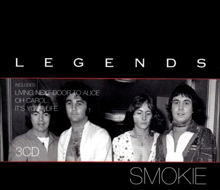 Smokie - Legends [Limited Edition] (3 CD, 2005)