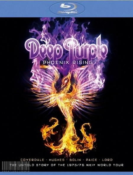 Группа Deep Purple - Phoenix Rising - Rises over Japan [2011] HDRip