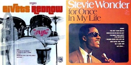 "Stevie Wonder - ""Eivets Rednow"" & ""For Once In My Life"" (1968)"