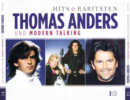 Thomas Anders Und Modern Talking - Hits & Raritaten (3 CD Boxset, 2011)