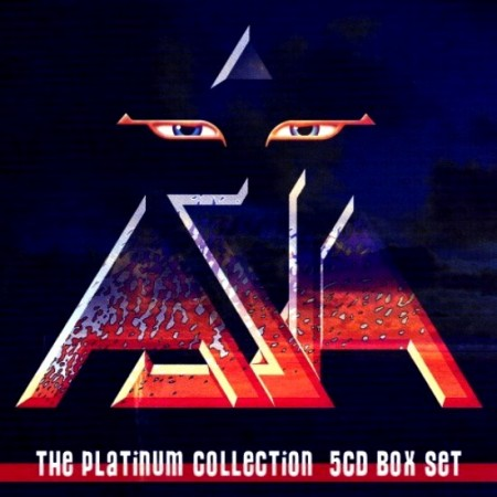Asia - The Platinum Collection 1982-2010 (5 CD Box Set, 2011)