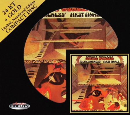 Stevie Wonder - Fulfillingness' First Finale (1974/2011) FLAC