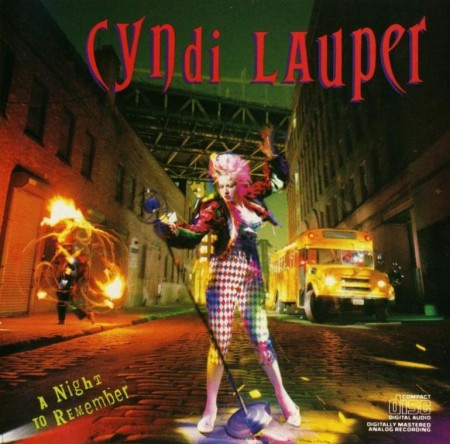 Cyndi Lauper - A Night To Remember (1989)