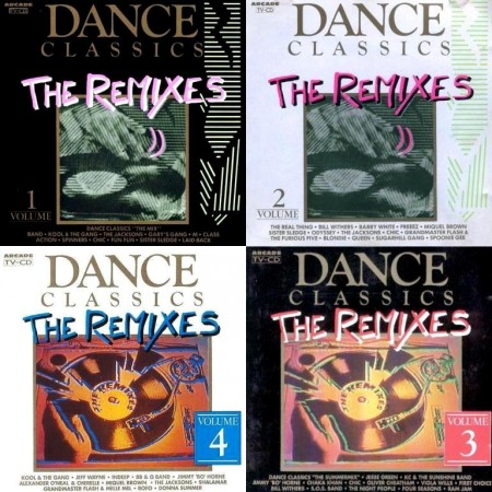 Dance Classics - The Remixes. Vol. 1-4 (1989-1990)