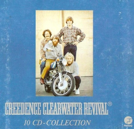Creedence Clearwater Revival – 10 CD Box Collection (1987)