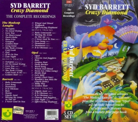 Syd Barrett - Crazy Diamond (3 CD Box Set, 1993)