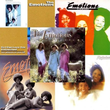 The Emotions - 6 Albums/5 CD Collection (1969-1978/1990-2011)
