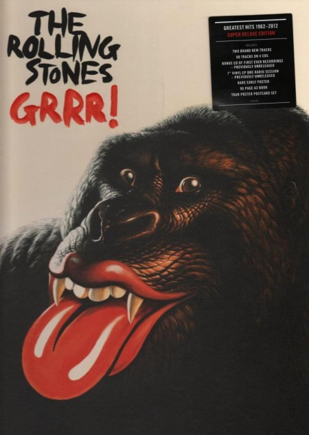 The Rolling Stones - GRRR! (5 CD Box Set Super Deluxe Edition, 2012)