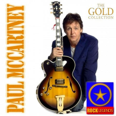 Paul McCartney - The Gold Collection. Rock Legends (Box Set 3 CD, 2012)