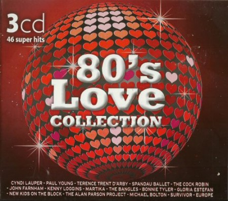 80's Love Collection (3CD) [2012] MP3 / 320 kbps