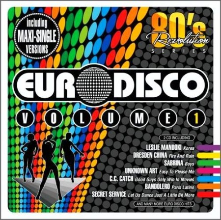 80 Revolution - Euro Disco - Italo Disco [2012-2013] MP3 / 320 kbps