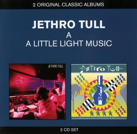 Jethro Tull - A & A Little Light Music (2 CD Set, 2013)