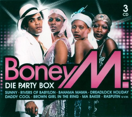 Boney M. - Die Party Box (3 CD Box Set, 2010) FLAC