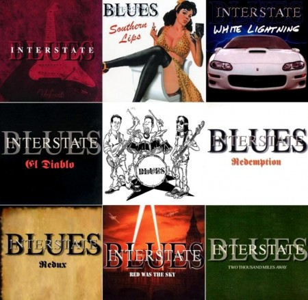 Interstate Blues - Discography/Дискография (8 CD, 1998-2013)