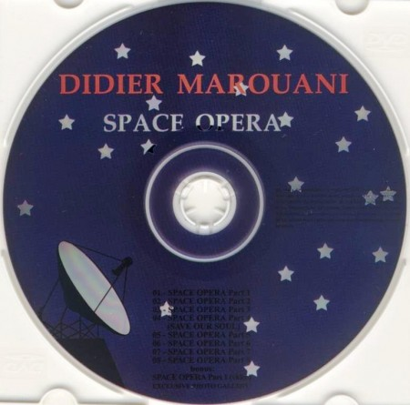Didier Marouani - Space Opera (1987/Remastered 2006) APE