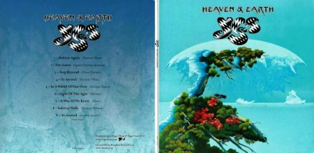 Yes - Heaven & Earth (Japanese Edition) (2014) MP3 & FLAC