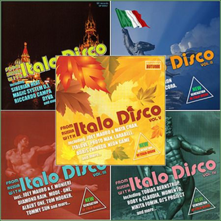 From Russia With Italo Disco (Vol.1-7) [2012-2014] MP3
