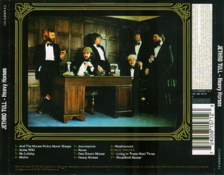 Jethro Tull - Heavy Horses (1978/2003 Remastering) FLAC