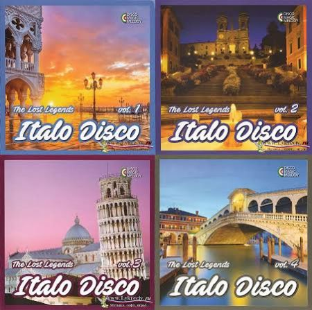 Italo Disco: The Lost Legends Collection [2017]